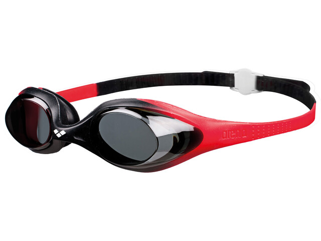 arena Spider Goggles Kinder red-smoke-black